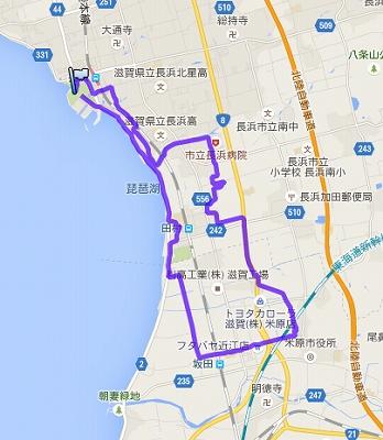 びわ湖長浜ツーデーマーチ・1日目