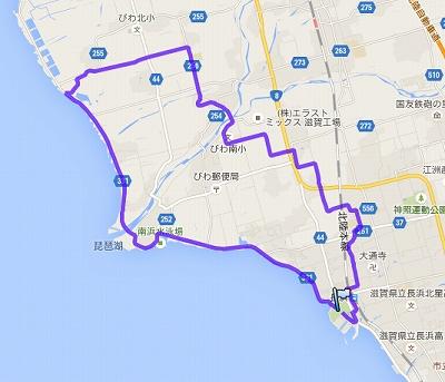 長浜ツーデーマーチ・2日目