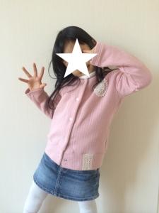 着画hibi+カーディガン110①