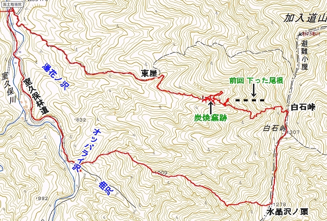 白石峠リベンジ2