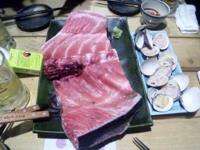 150205魚のてっぺんマグロのすき身