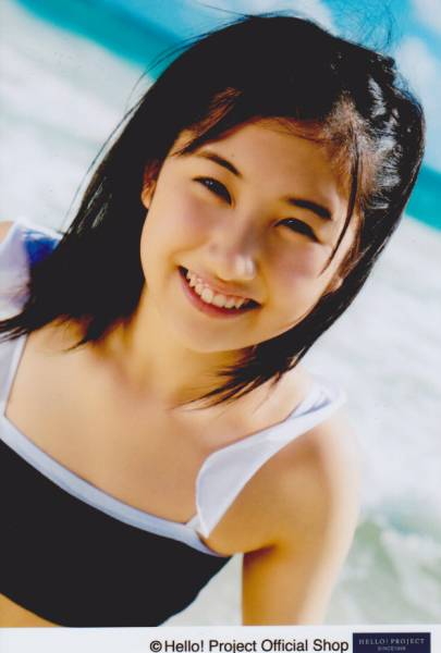 モーニング娘。'14、水着姿の佐藤優樹