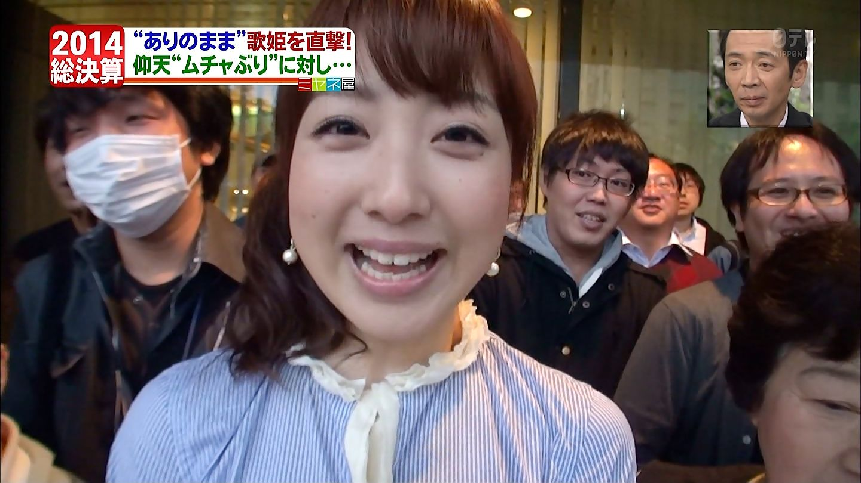 乳首が立った状態でミヤネ屋に出演していた川田裕美アナ