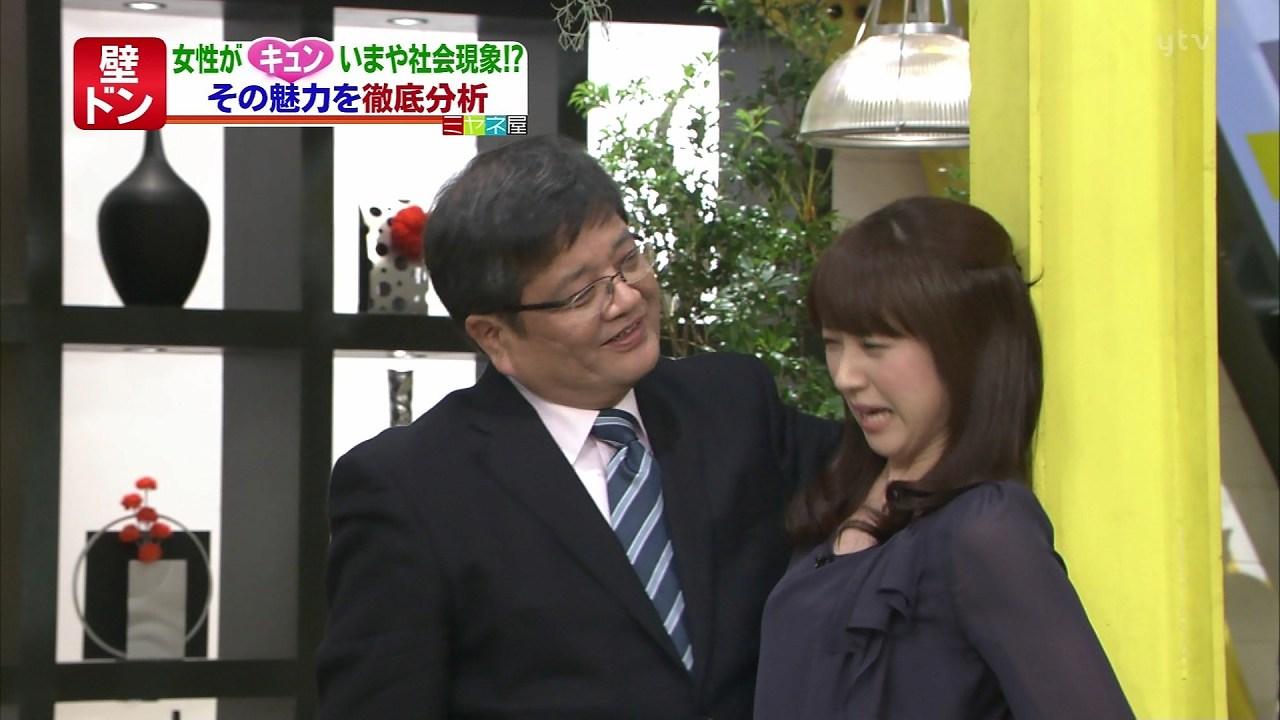 「ミヤネ屋」で川田裕美アナに壁ドンする森永卓郎