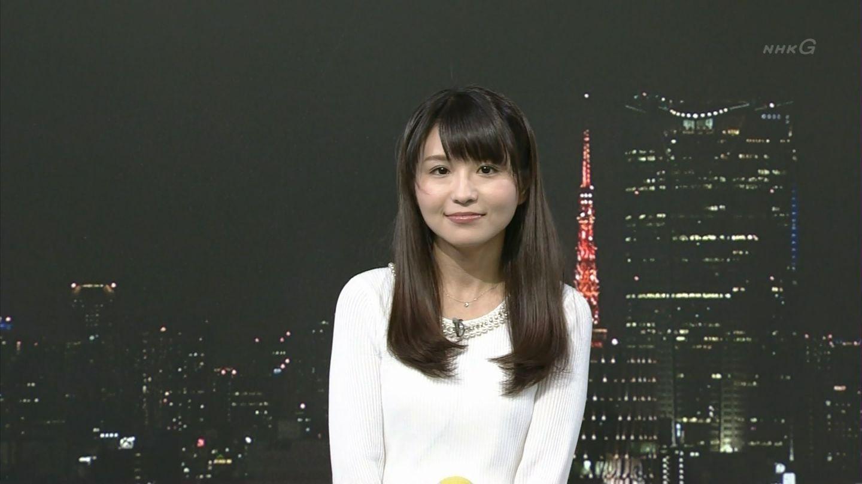音楽教師とのフライデー発売翌日にNHK「ニュース7」に出演した岡村真美子