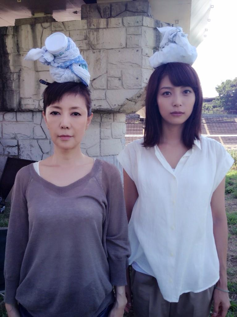 戸田恵子と相武紗季