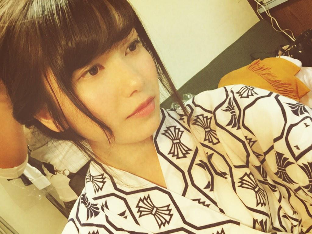 AKB48・横山由依の浴衣姿