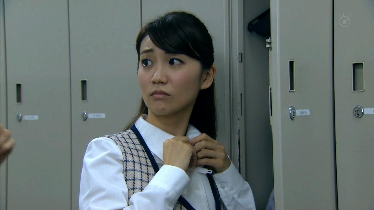 ドラマ「銭の戦争」で制服姿の大島優子