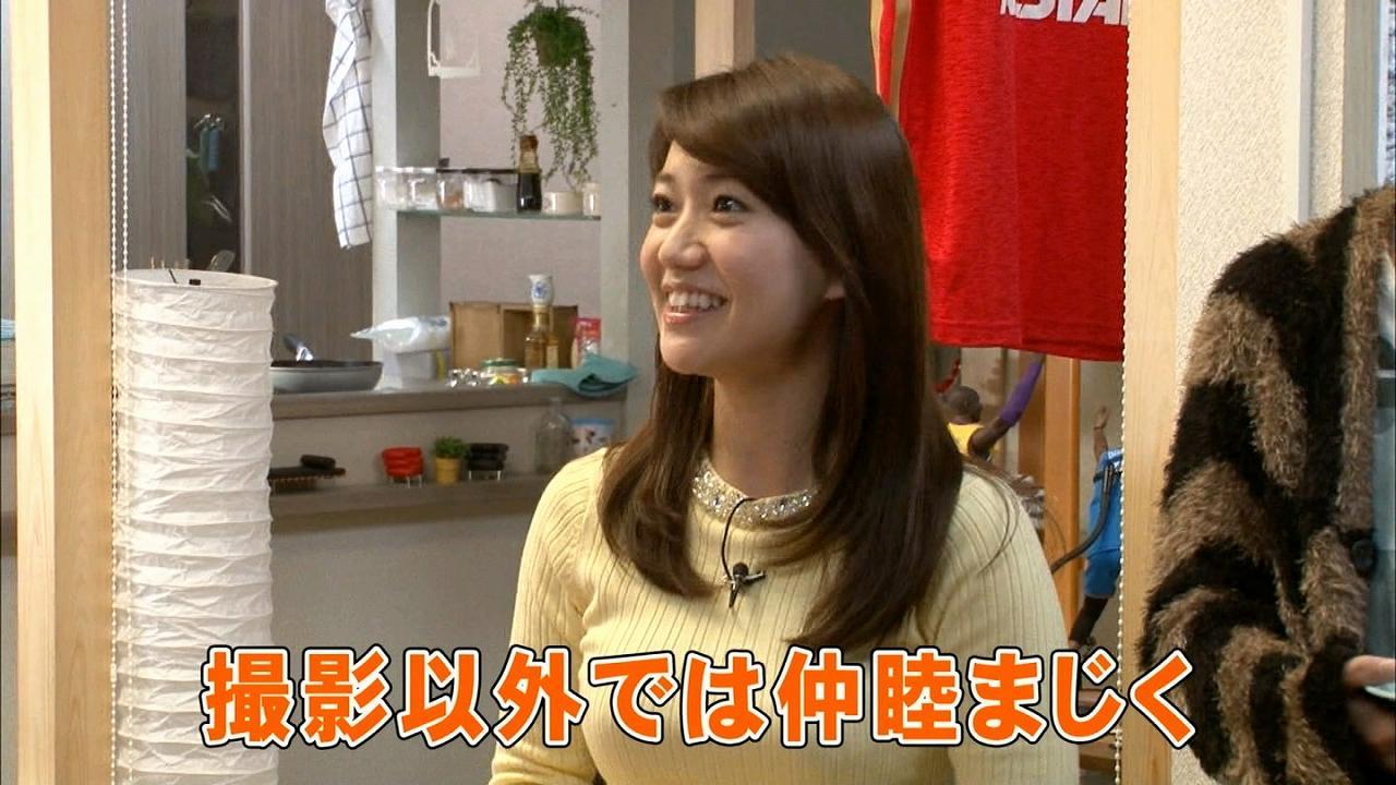 大島優子の最新おっぱい
