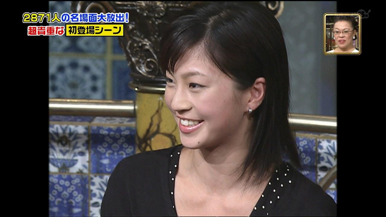 踊る!さんま御殿!!に出演した21歳の安田美沙子