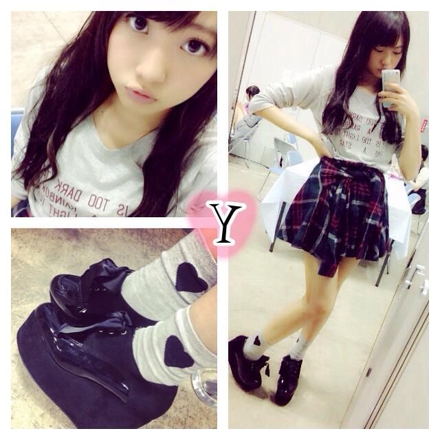 AKB48・木崎ゆりあの自撮り画像