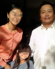 ラサール石井とラサール石井の前妻と子供