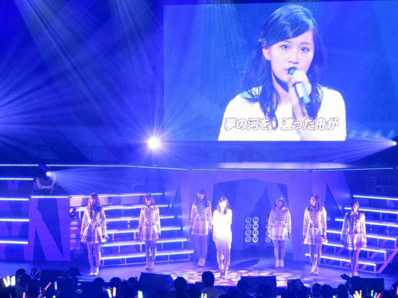 AKB48リクエストアワーにサプライズで復帰した前田敦子