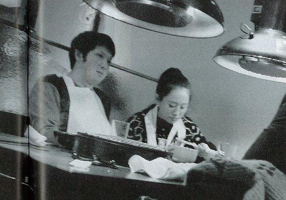 焼肉デートをする前田敦子と尾上松也