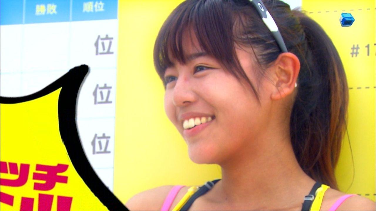 ビーチバレー選手の坂口佳穂