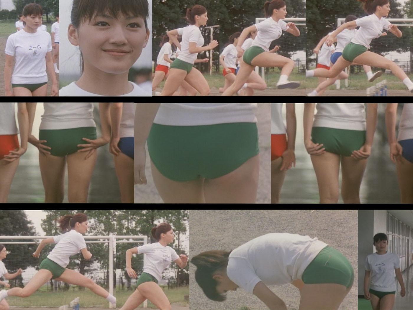 映画「Jam Films」の「JUSTICE」綾瀬はるかの体操服・ブルマ姿