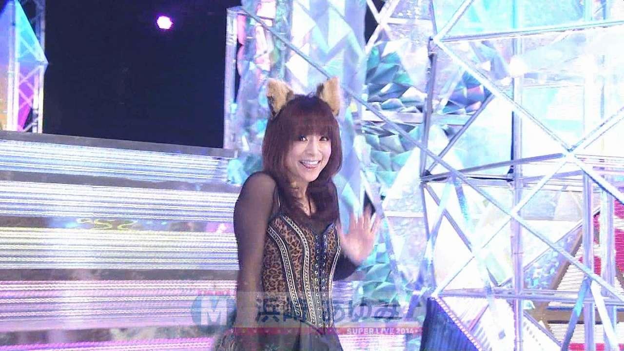 2014年12月26日、「ミュージックステーション スーパーライブ2014」に猫耳をつけて登場した浜崎あゆみ
