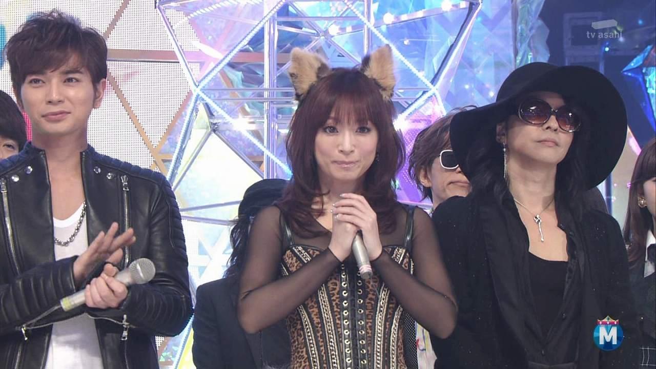 2014年12月26日、「ミュージックステーション スーパーライブ2014」に出演した浜崎あゆみ
