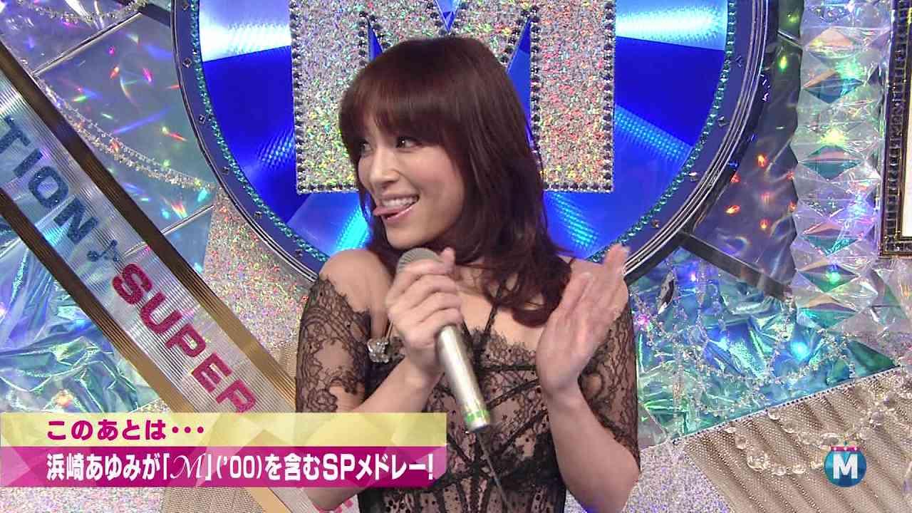2014年12月、「ミュージックステーション スーパーライブ2014」に出演した浜崎あゆみ