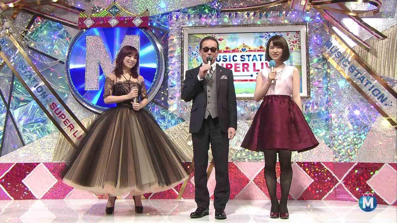 「ミュージックステーション スーパーライブ2014」に出演した浜崎あゆみ