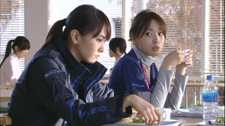 ドラマ「コード・ブルー」の新垣結衣と戸田恵梨香