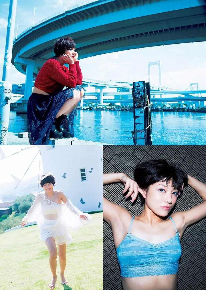 「週刊プレイボーイ 2015 No.7」の宮澤佐江(写真集「涙の行方」画像)