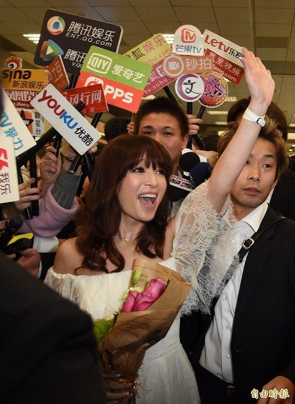 7年ぶりにコンサートのため台湾訪問した浜崎あゆみ