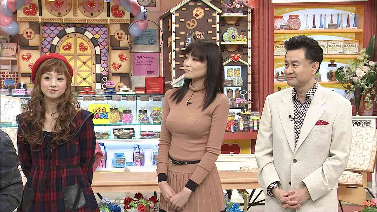 「ごきげんよう」に出た佐藤江梨子のニット着衣おっぱい