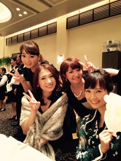 後藤真希の披露宴に出席したモーニング娘。OGの保田圭、飯田圭織、矢口真里、安倍なつみ