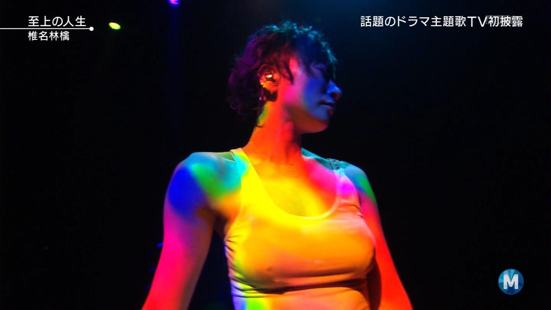 ミュージックステーションで「至上の人生」を歌う椎名林檎の乳首