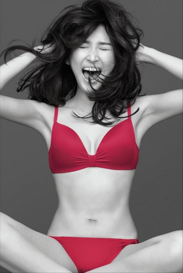 ピーチ・ジョンのCMで下着姿になった紗栄子
