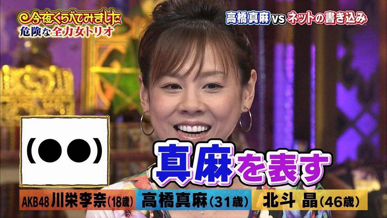 高橋真麻を表す顔文字