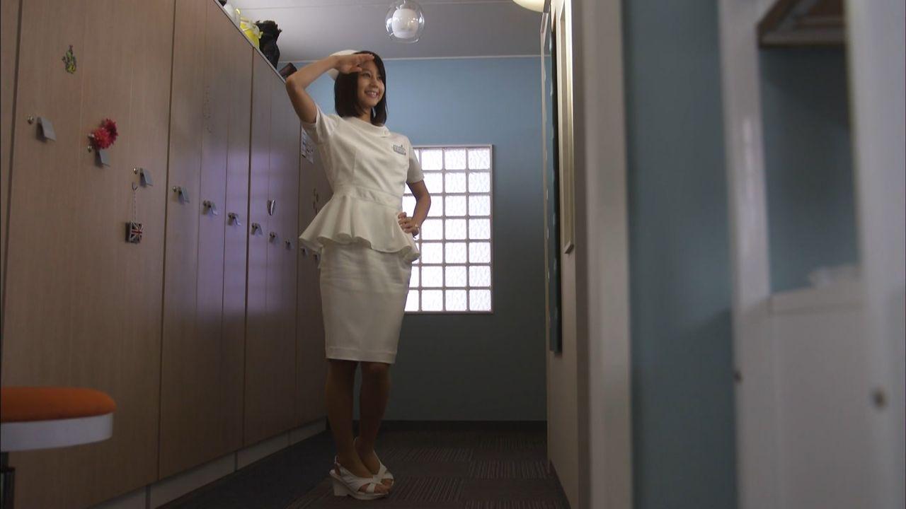 ドラマ「まっしろ」でナース服を着た堀北真希