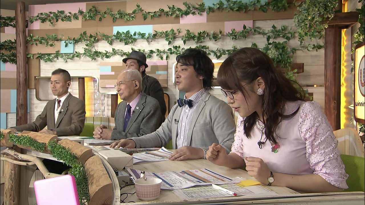 「ウイニング競馬」に出演した鷲見玲奈アナの横乳