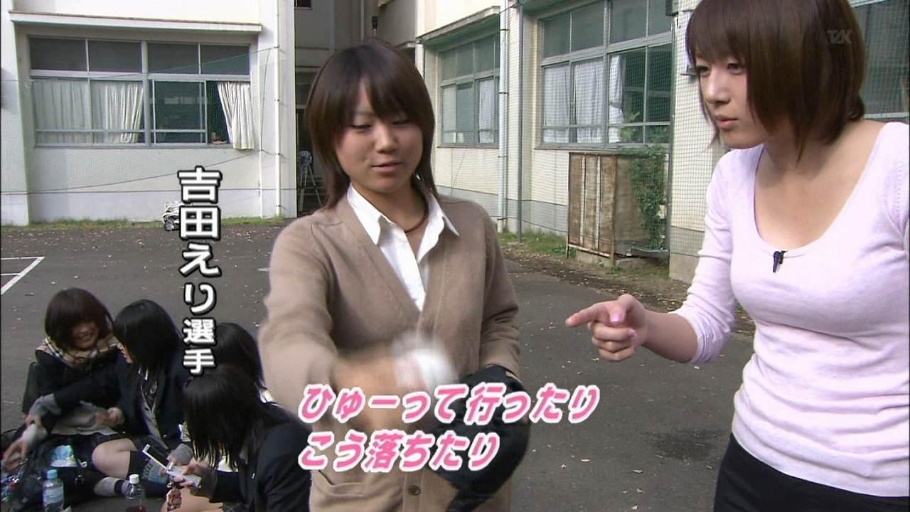 ナックル姫こと吉田えりを取材する大島由香里