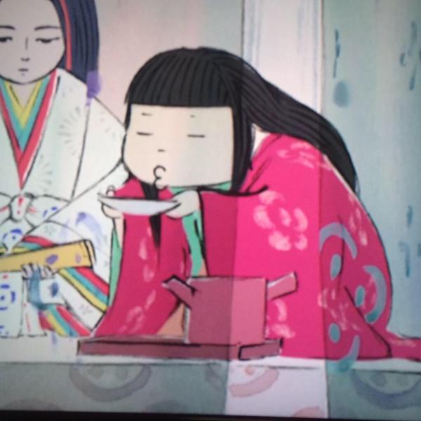 「かぐや姫の物語」の女童