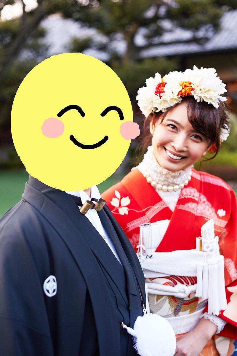 加藤夏希がブログで公開した結婚式の画像