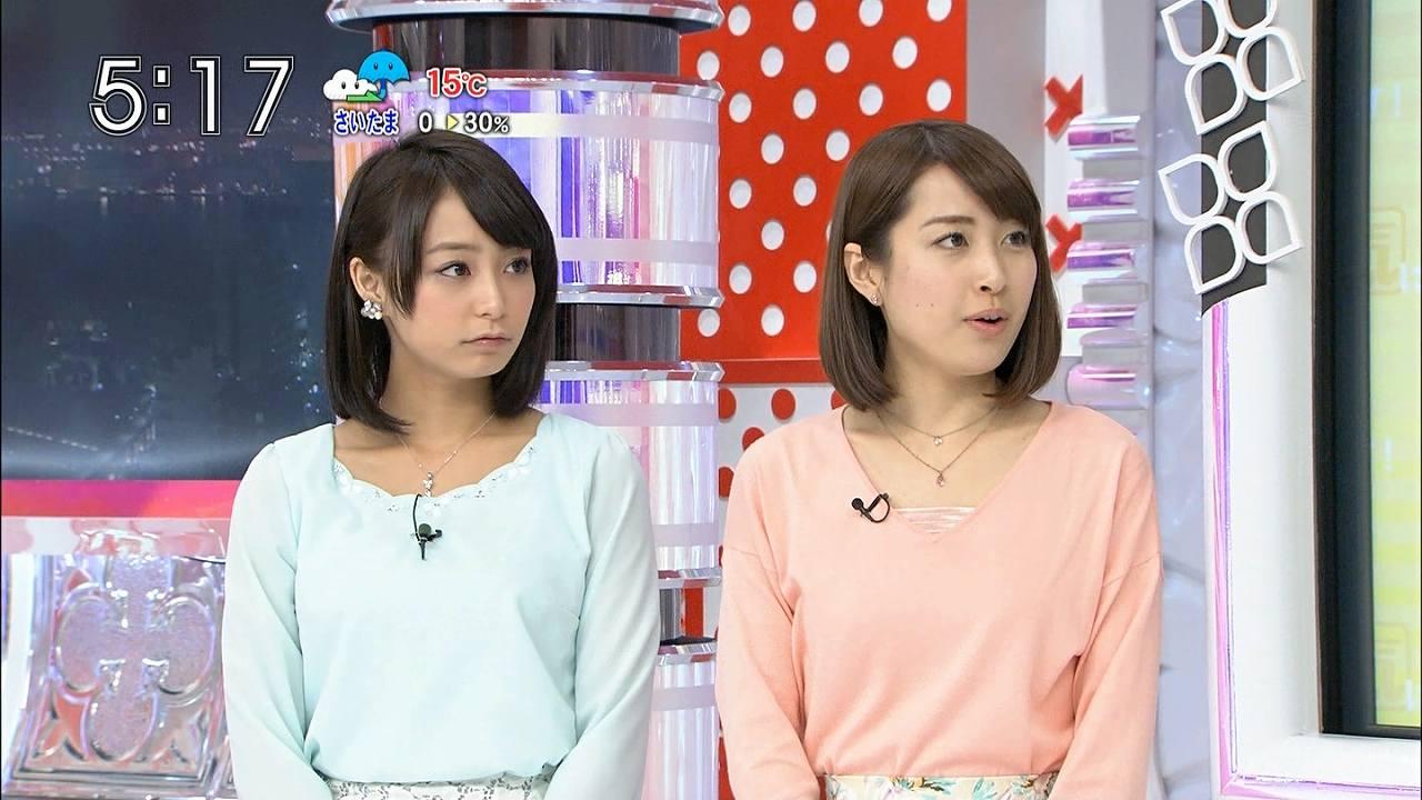 TBS「あさチャン」に出演する宇垣美里アナ