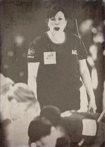 ロシア美女のカーリング選手、20代半ばの頃