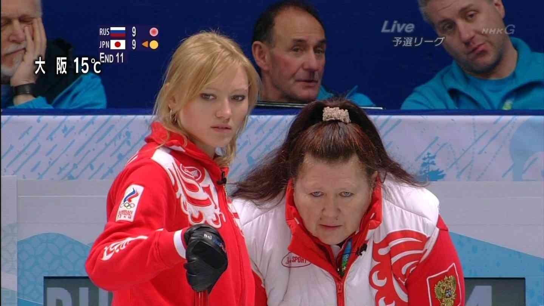 元ロシア美女のカーリング選手の現在の姿(40歳)