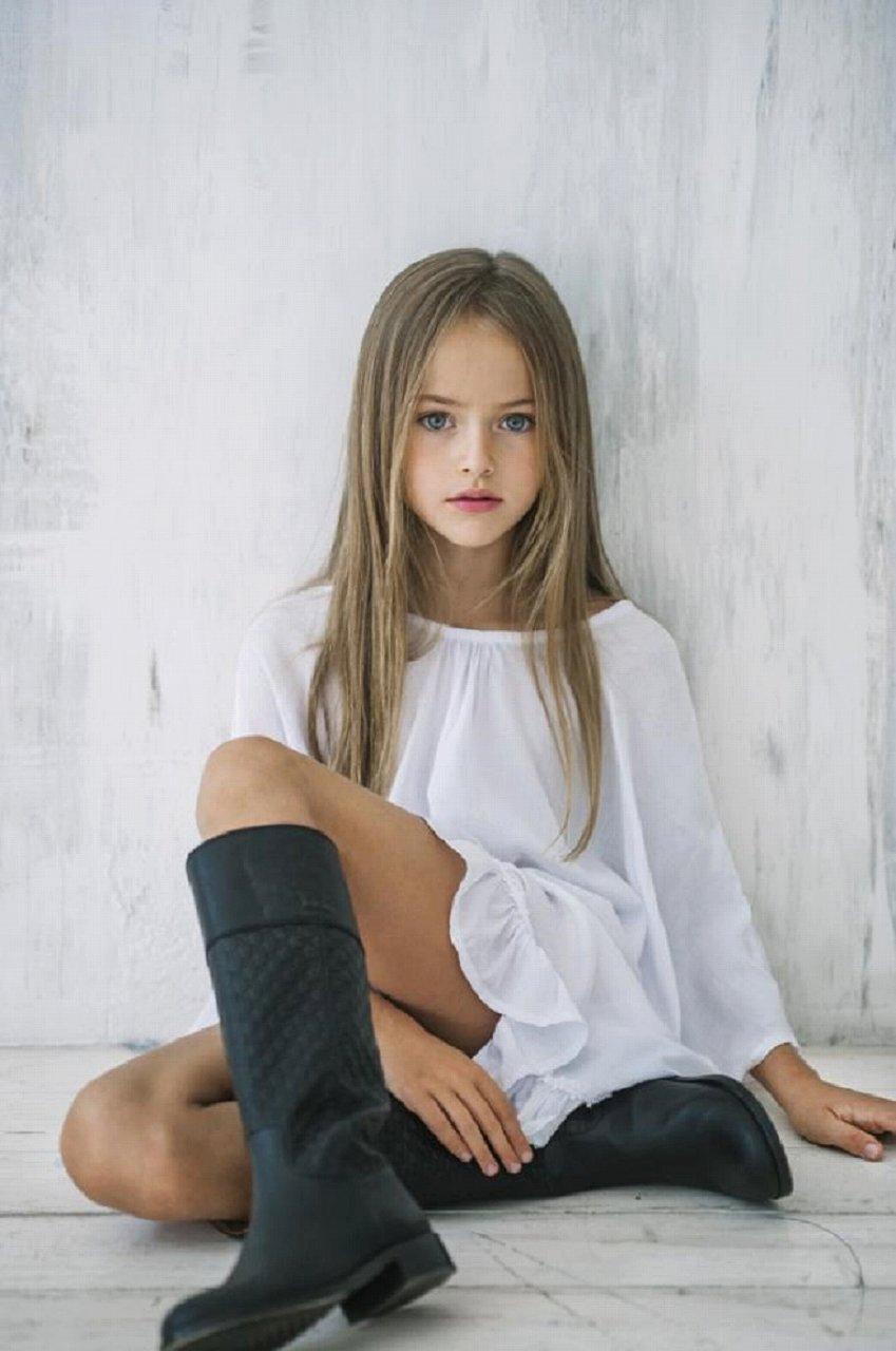 ロシアの美女、クリスティーナ・ピメノヴァ