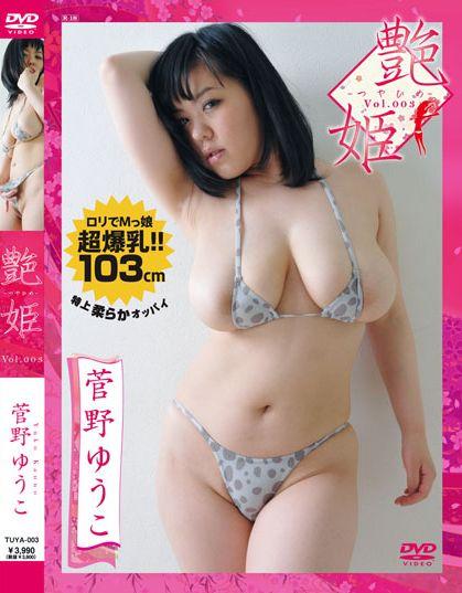 菅野ゆうこのDVD「艶姫」パッケージ写真