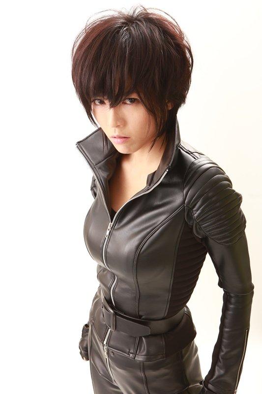 映画「KIRI―『職業・殺し屋。』外伝―」で女暗殺者を演じる釈由美子