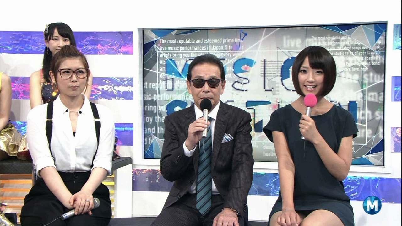 ミュージックステーションでミニスカートを履いてパンチラする竹内由恵
