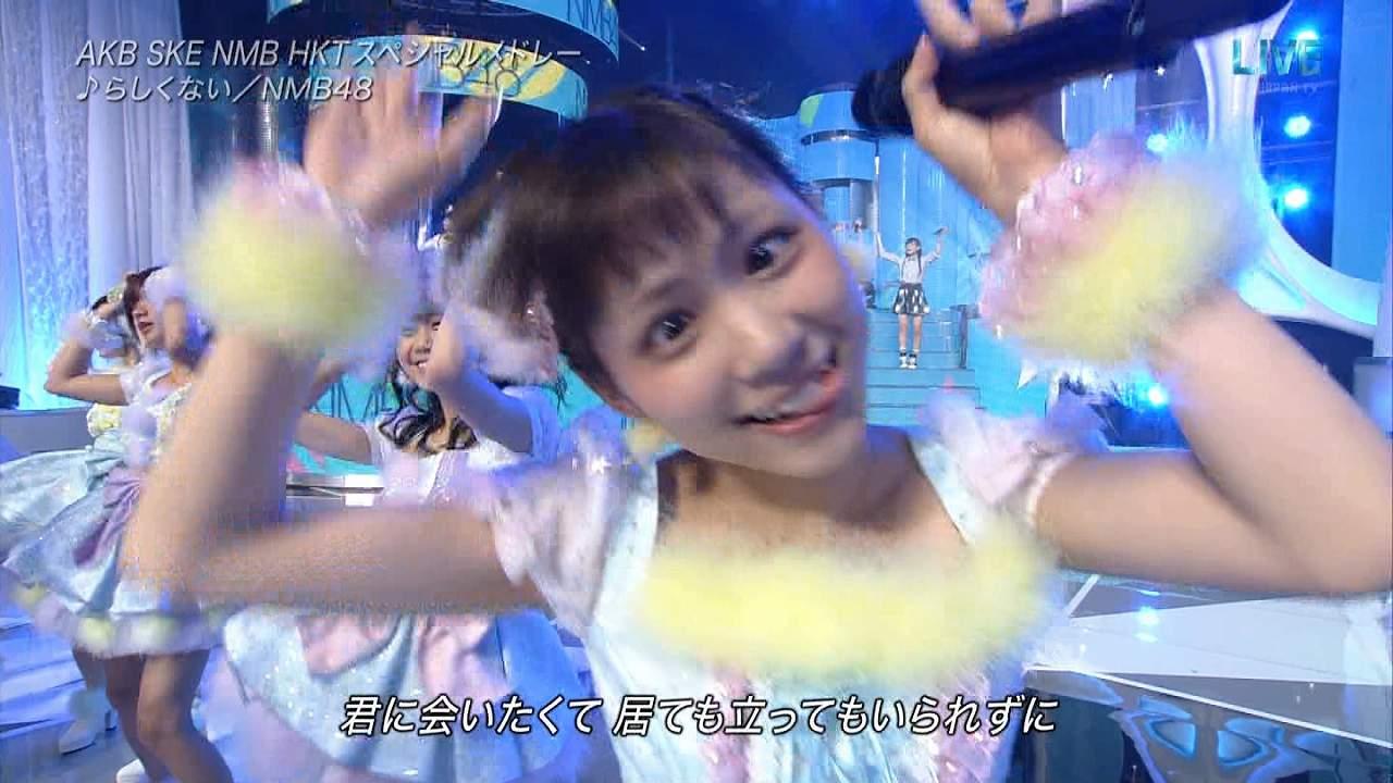 生放送で変顔をしまくるNMB48の木下百花