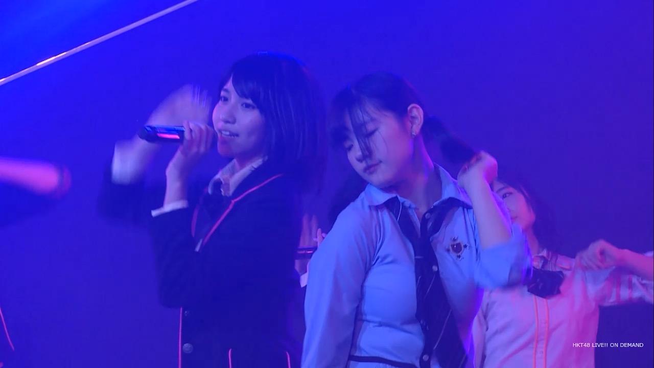 巨乳のHKT48・田中優香が胸が強調される衣装を着た姿