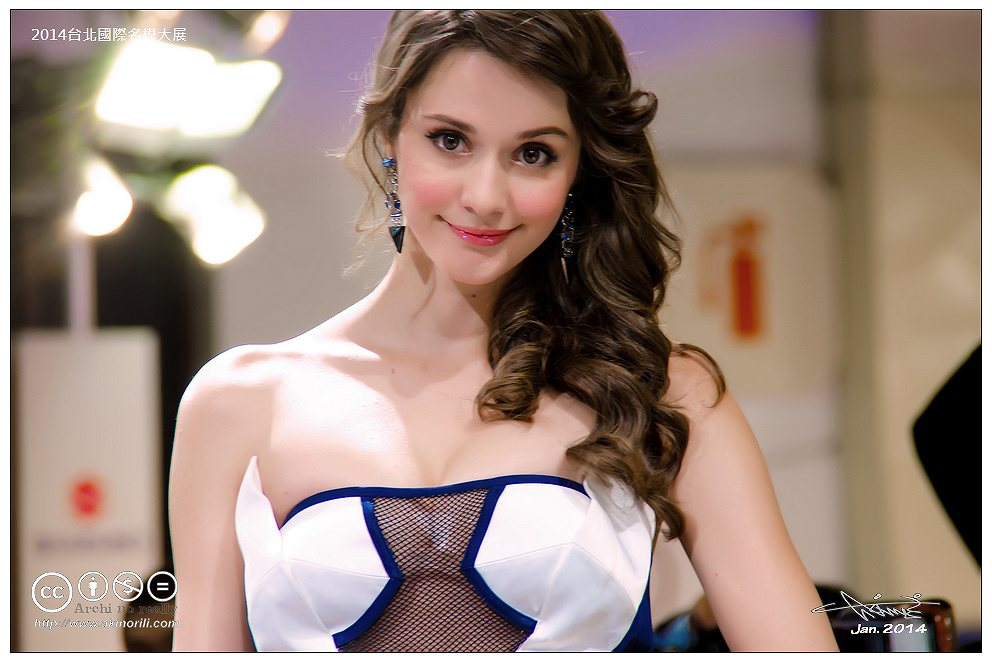 台湾人モデルの瑞莎