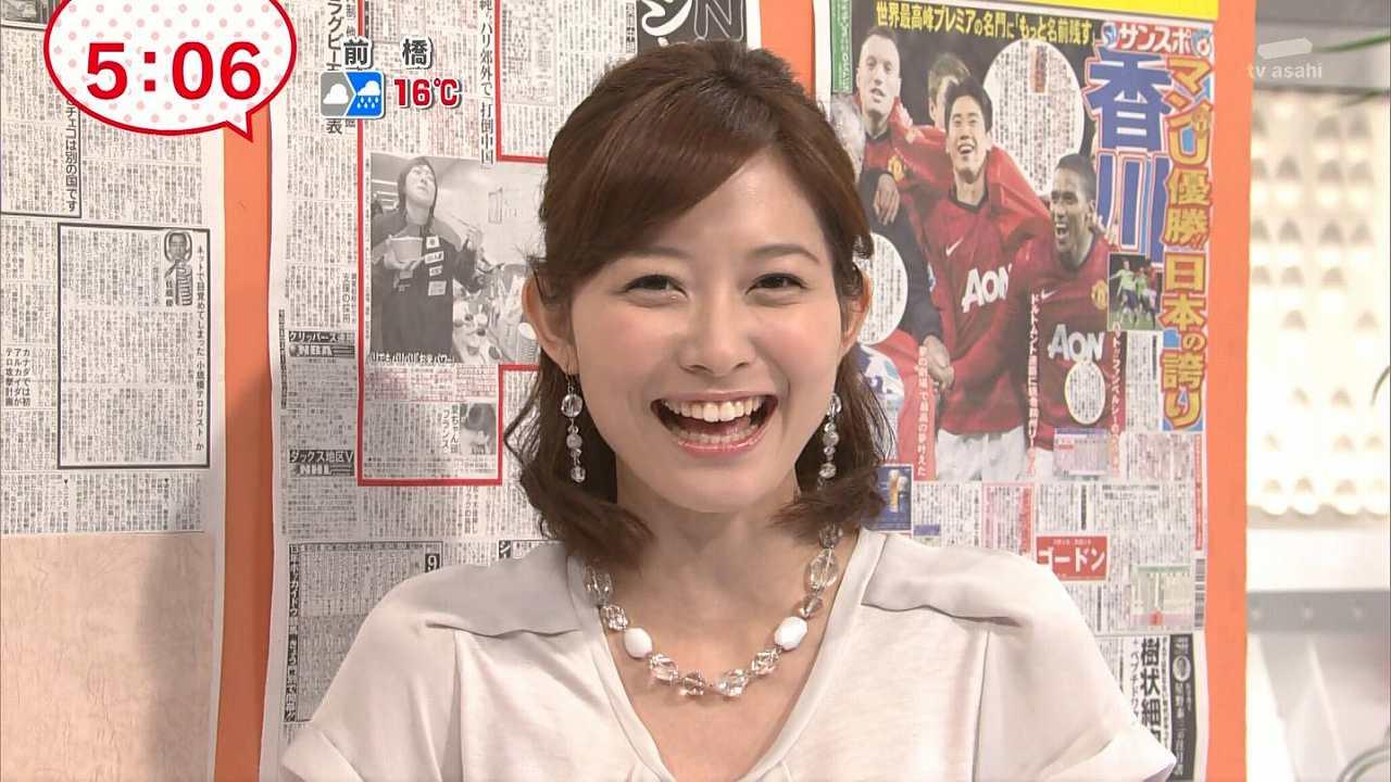 テレビ朝日の久冨慶子アナ