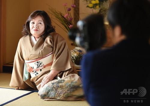 61歳のAV女優・トミタヤスエ