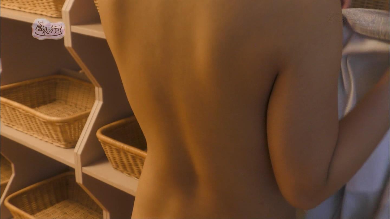 「もっと温泉に行こう!」可愛い女の子の全裸背中